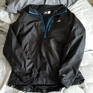 New Balance Packable Pullover Black w/ Reflectives